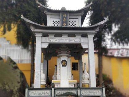 寺庙福寿亭子