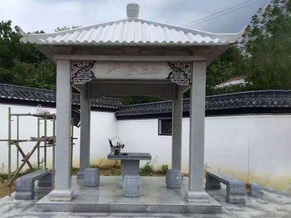 寺庙单层亭子