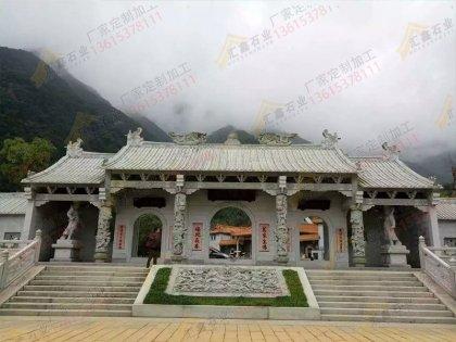 寺庙石雕龙柱3