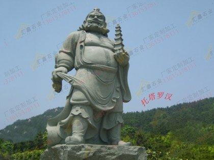 寺院雕刻十八罗汉像