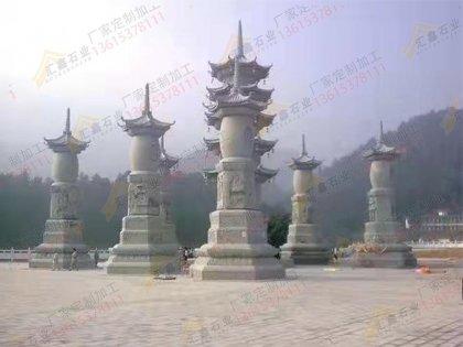 寺庙多宝佛塔