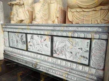 寺庙浮雕须弥座雕刻