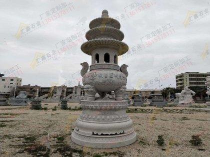 石雕寺庙香炉