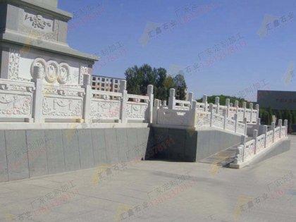 汉白玉寺院雕刻栏杆