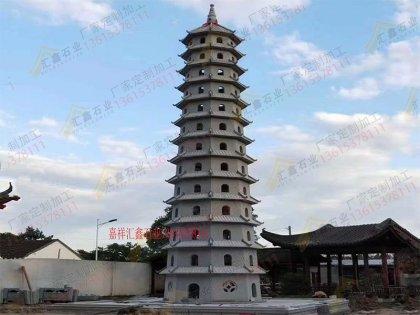 寺庙石雕石塔