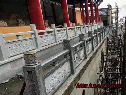 寺庙石雕栏杆